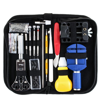 147 PCS Metal Watch Repair Tool Kit
