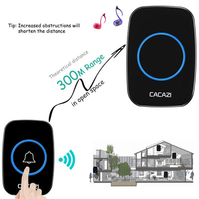 Home Living Waterproof Wireless Doorbell