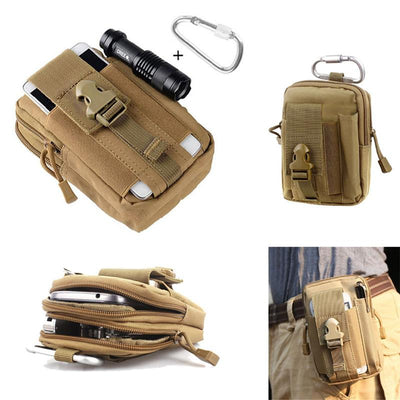Tactical MOLLE Pouch Waist Pack