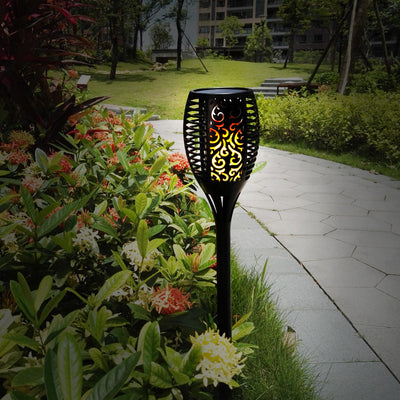 Solar Flame Lights
