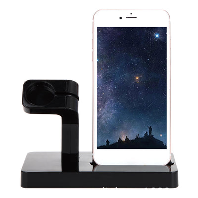 2in1 Charging Stand Dock Holder Station for Apple Watch & iPhone