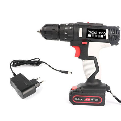 Cordless 2 speed Lithium Battery Electric Screwdriver