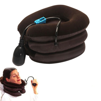 Adjustable and Inflatable Neck Pillow