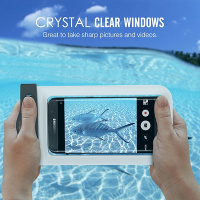 Universal Waterproof Phone Case With Armband for iPhone Samsung Sony Huawei LG OnePlus