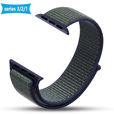 Nylon Sport Loop Replacment Band for Apple Watch Series 1 2 3