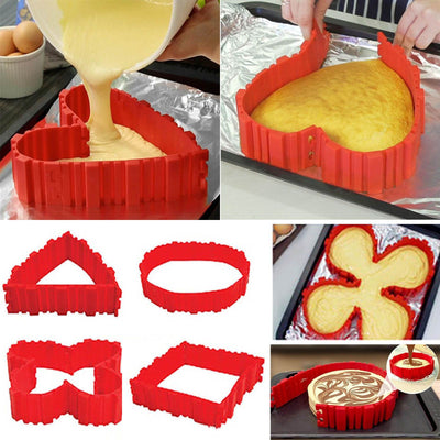 Magic Cake Mold 4pc Set