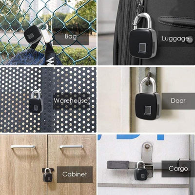 Fingerprint Padlock - Smart Fingerprint Lock Waterproof
