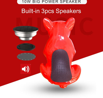 Boom Beats French Bulldog Wireless Bluetooth Speaker