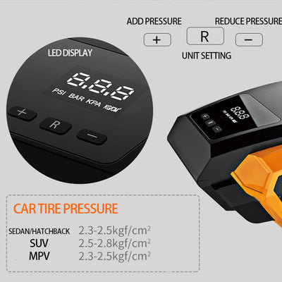 Portable Digital Tyre Inflator