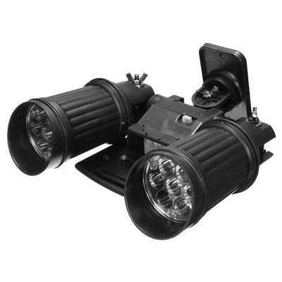 Solar Dual Head Spotlight