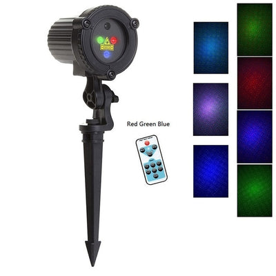 Christmas Laser Lights Star Projector Waterproof