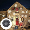Christmas Snowflake Laser Projector Waterproof