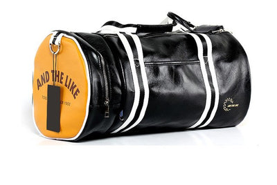 Hot Top PU Leather Gym Bag