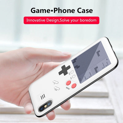 Retro Game Tetris Phone Cases for iPhone 6 6S 7 8 Plus X Soft