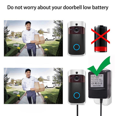 Transformer Charger for Wifi Wireless Doorbell