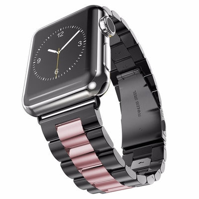 Apple Watch Band 44mm 40mm 38mm 42mm Metal Sport Bracelet Stainless Steel Strap For iWatch Series 4 3 2 1