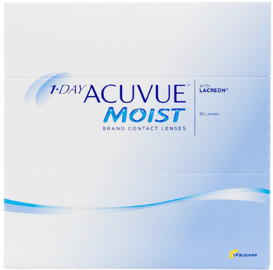 Acuvue 1 Day Moist 90 pack