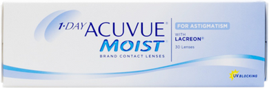 Acuvue 1 Day Moist for Astigmatism 30 pack