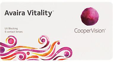 Cooper Vision Avaira Vitality Monthly 6 pack