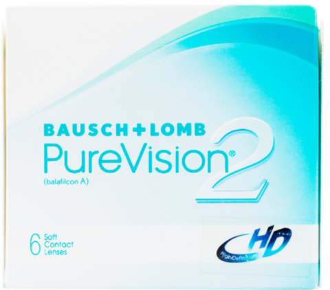 Bausch & Lomb Pure Vision 2 Monthly 6 pack