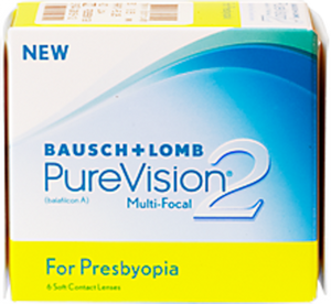 Bausch & Lomb Pure Vision 2 Multi focal Monthly 6 pack