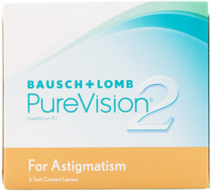 Bausch & Lomb Pure Vision 2 for Astigmatism Monthly 6 pack
