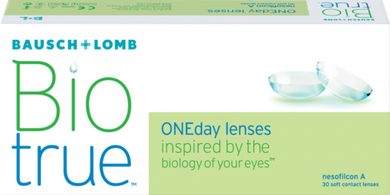 Bausch & Lomb Bio True One Day Daily lenses 30 pack
