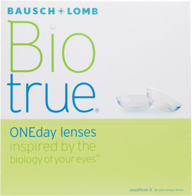 Bausch & Lomb Bio True One Day lenses 90 pack