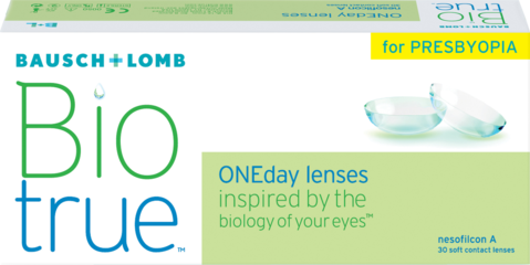 Bausch & Lomb for Presbyopia One day lenses 30 pack