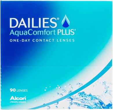 Alcon Dailies Aqua Comfort Plus Daily  90 pack