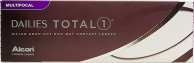 Alcon Dailies TOTAL 1 Multifocal Daily contact lens 30 pack