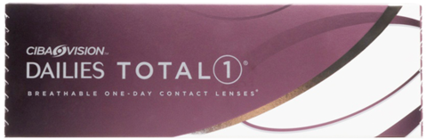 Alcon Dailies TOTAL 1 Daily contact lenses 30 pack