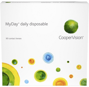 Cooper Vision MyDay Daily contact lenses 90 pack