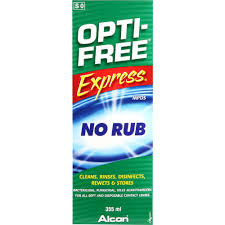 Opti-Free Express Contact Lens Solution 355ml