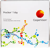 Cooper Vision Proclear 1 day Daily contact lenses 90 pack
