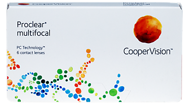 Cooper Vision Proclear Multifocal Monthly contact lenses 6 pack