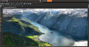 PaintShop Pro 2019 UI Screenshot
