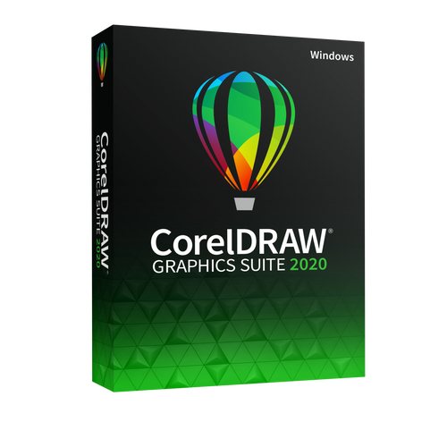 CorelDRAW Graphics Suite 2020 (Per unit from 1-5 licences)