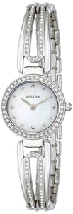 Bulova Crystal Accented Bangle Style 96L126 Women‰۪s Watch