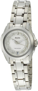 Bulova Precisionist Longwood Diamond 96P115 Women's Watch