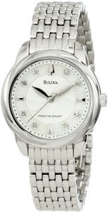 Bulova Precisionist Brightwater Crystal 96P125 Women's Watch