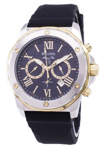 Bulova Marine Star 98B277 Chronograph Quartz Men's Watch