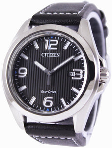 Citizen Eco-Drive Black Dial AW1430-19E Men's Watch