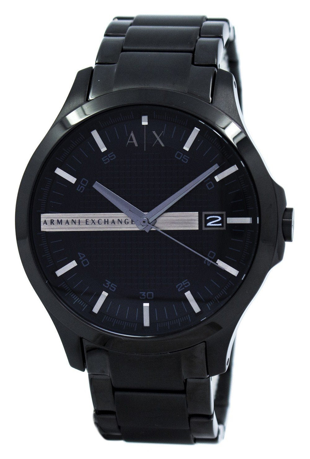 Armani Exchange Black Dial Stainless Steel AX2104 Men's Watch