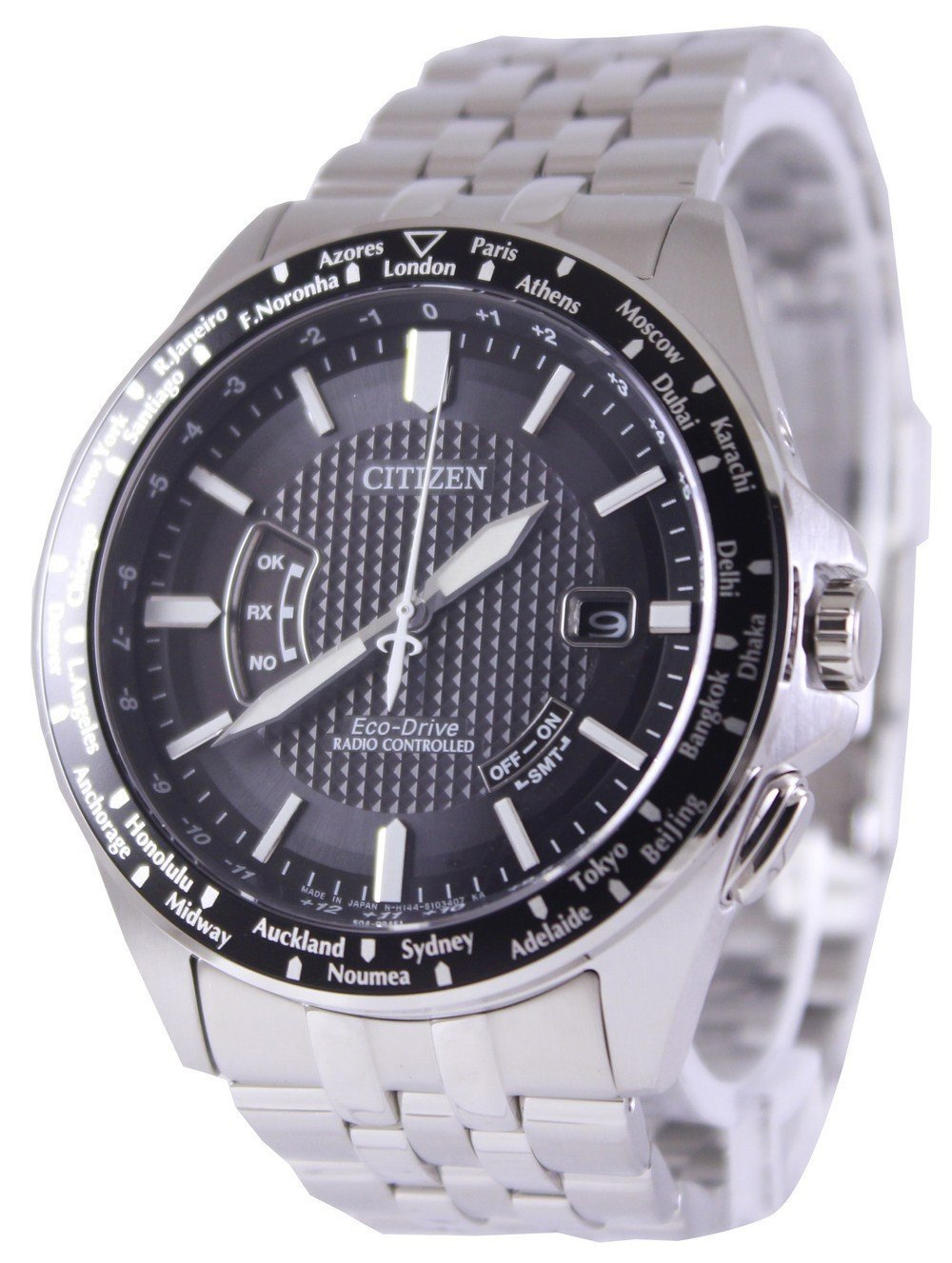 Citizen Eco-Drive Global Radio Controlled CB0027-51E/CB0020-50E Men's Watch