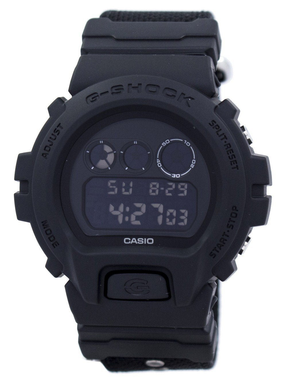 Casio G-Shock Alarm Shock Resistant Digital DW-6900BBN-1 DW6900BBN-1 Men's Watch