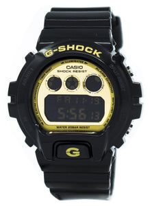 Casio G-Shock Illuminator Black   Gold DW-6900CB-1 Men's Watch