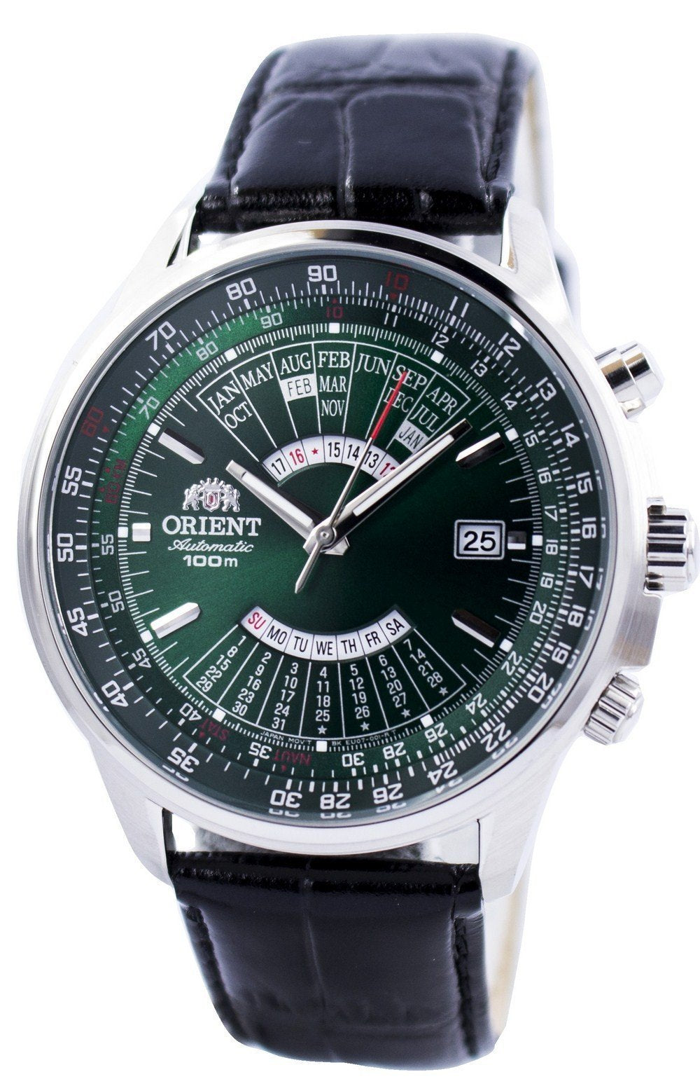 Orient Automatic Multi Year Calendar 100M FEU0700CFH Men's Watch