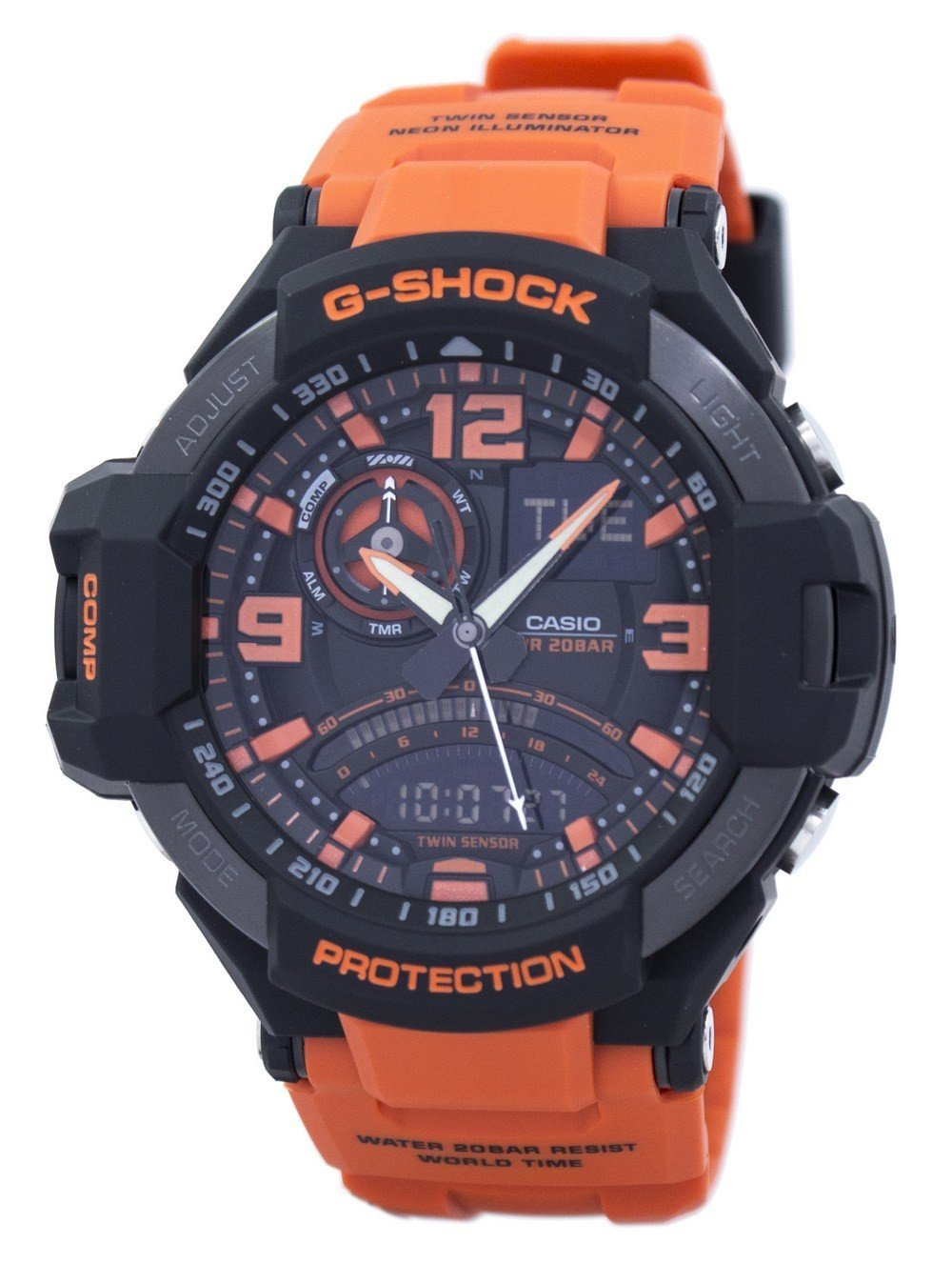 Casio G-Shock Gavitymaster Neon Illuminator Analog-Digital GA-1000-4A GA1000-4A Men's Watch