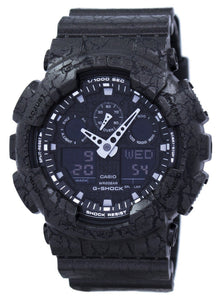 Casio G-Shock Shock Resistant World Time Analog Digital GA-100CG-1A GA100CG-1A Men's Watch